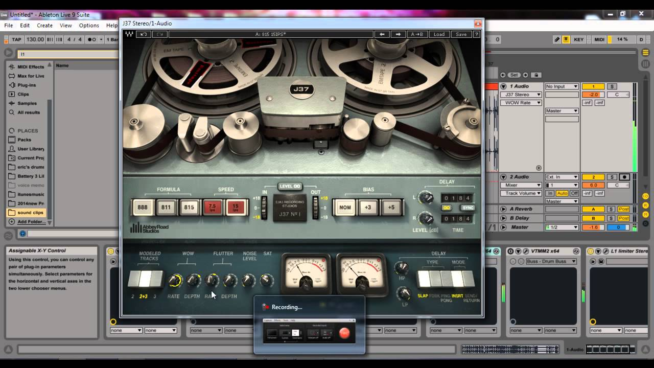 Waves J37 vs Kramer MPX vs Nebula3 vs CDS VTM-M2 (Tape Machine Plug-in  Shootout)