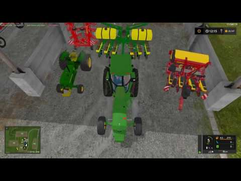 FS17 Goldcrest Valley Ep. 1 Feeding cows and planting grass