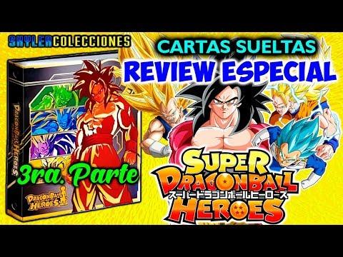REVIEW ESPECIAL CARTAS SUELTAS PARTE 3 SUPER DRAGON BALL HEROES | SKYLER COLECCIONES