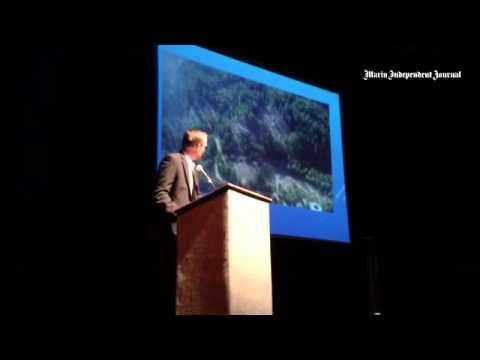 Congressman Jared Huffman addresses marijuana grows and how they effect salmon.