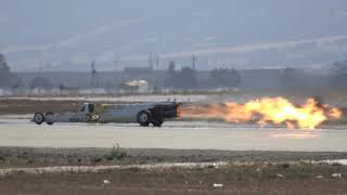 Beast Jet Dragster .. California International Airshow 2017 (4K)