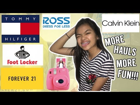 MINI GUAM HAUL??? (Forever21, Tommy Hilfiger, Calvin Klein + more) | Leianne Yvonne