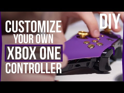 How To Customize Your Xbox One Controller - DIY Custom Front Shell, Buttons & Analog Sticks