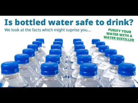 Bottled Mineral water is harmful
