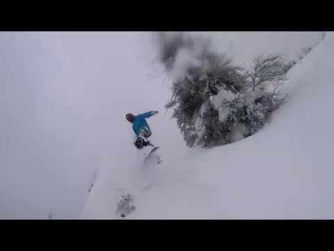 Bogus Basin- Powder Day- Boise Idaho- GoPro