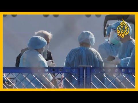 وزارة الصحة اليابانية تخلي السفينة التي انتشر فيروس كورونا بين ركابها  - نشر قبل 4 ساعة