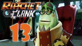 Ratchet And Clank PS4 Прохождение игры 13 Планета Калебо 3