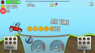 Hill climp racing android games 2018 level4 reach 800meters