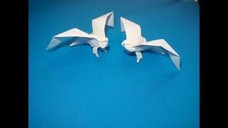 как сделать орла из бумаги. Eagle paper