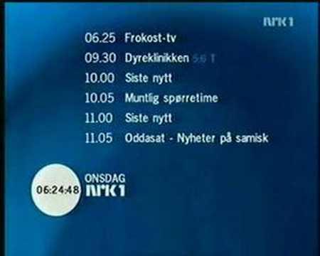 NRK1 Startup 2007