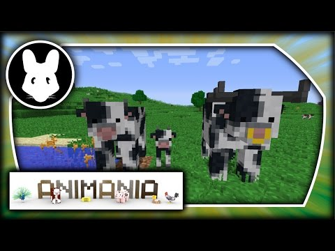 Animania: Cows! Bit-by-Bit for Minecraft 1.11.2!