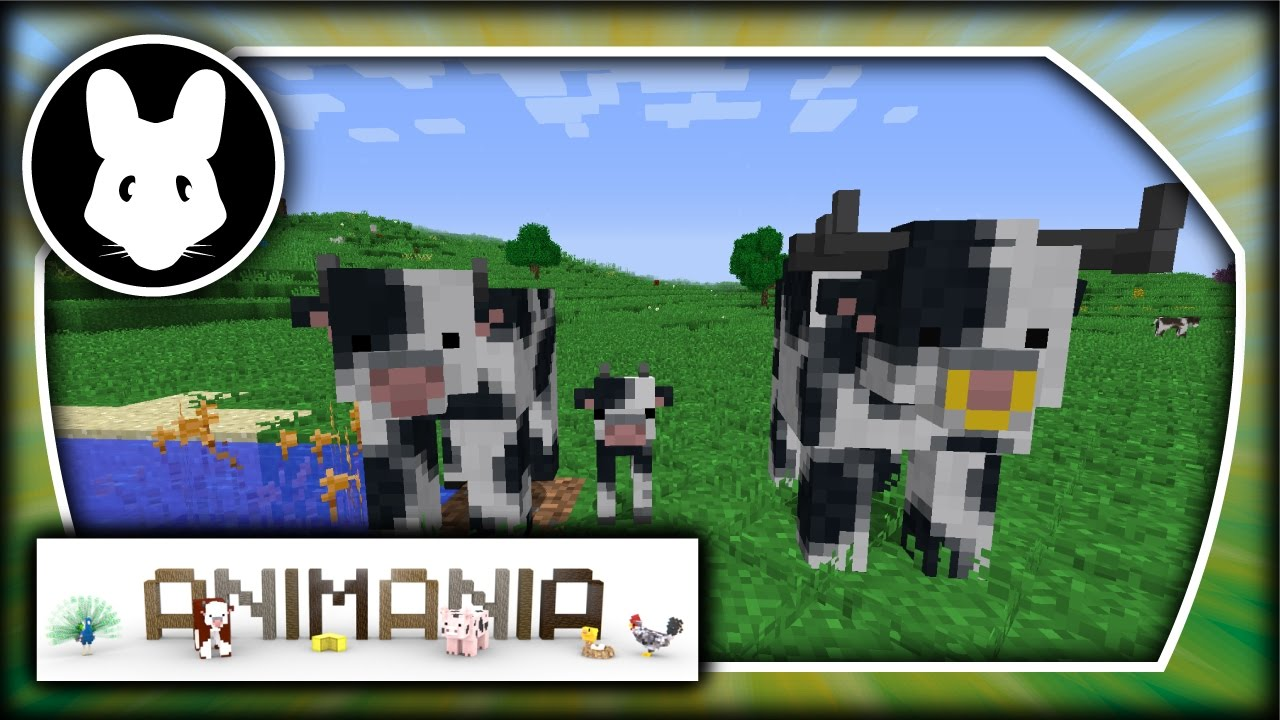 Animania: Cows! Bit-by-Bit for Minecraft 1 11 2!