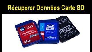 Récupérer les Fichiers d'une Carte SD Formatée