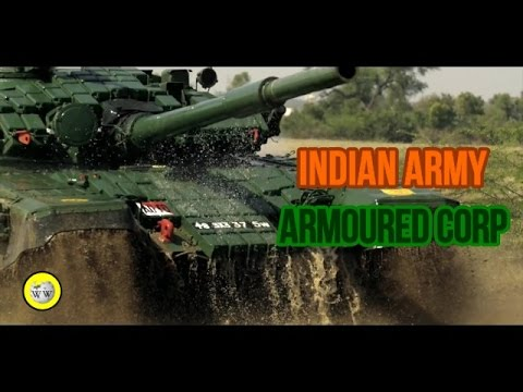 Indian Army  - Tank Man (Armoured division Promo Video)