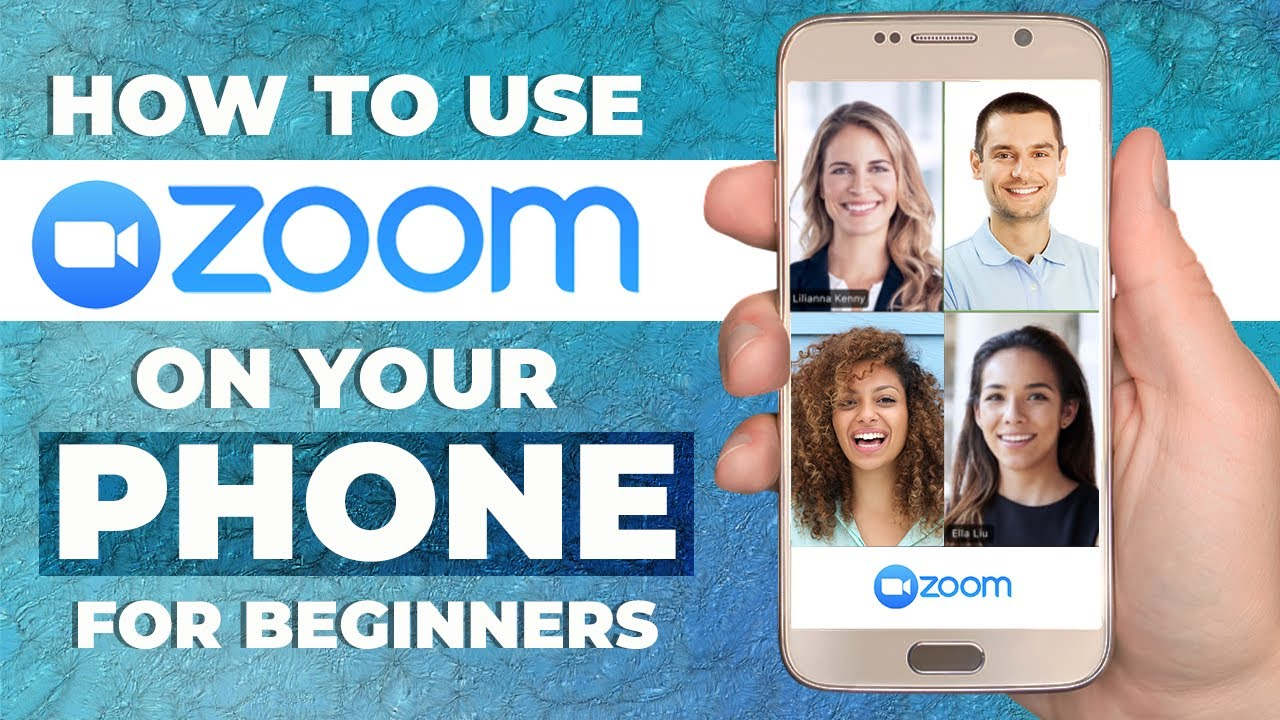 HOW TO USE ZOOM MOBILE APP ON YOUR PHONE 11  Step By Step Tutorial For  Beginners (ANDROID & IOS)