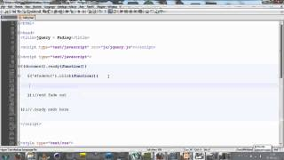 Fading Effect with jQuery