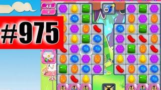 Candy Crush Saga Level 975 (NEW) | Complete!