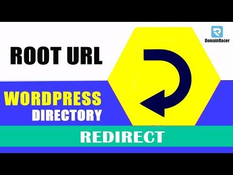 Redirect Root URL To WordPress Directory - [Permanantly 301]