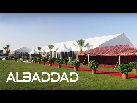 Solar Park Inauguration Event - AlBaddad Pyramid Tent