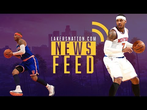 Lakers Feed:  How Carmelo Anthony Trade Impacts Lakers Chances Of Landing Paul George