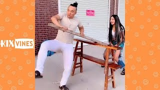 Funny videos 2019 ✦ Funny pranks try not to laugh challenge P108