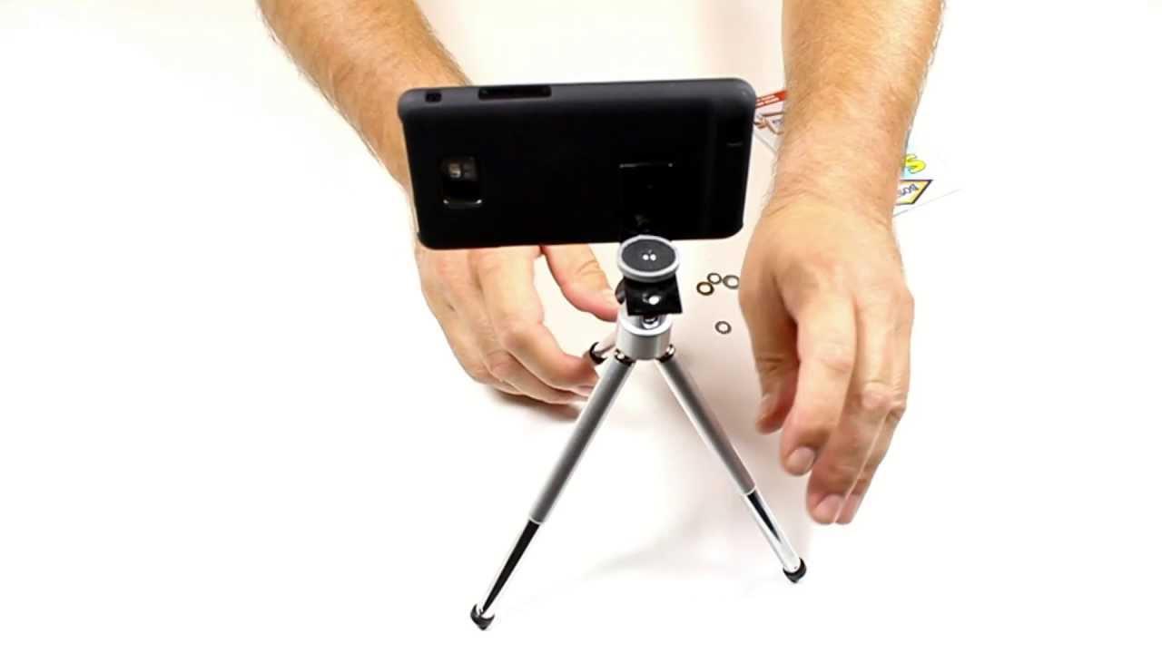 DIY - Smartphone Iphone Tripod Mount - Treppiede per ...