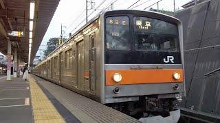 2020.6.13 武蔵野線205系 夕方の1/6、M20編成を味わう!!