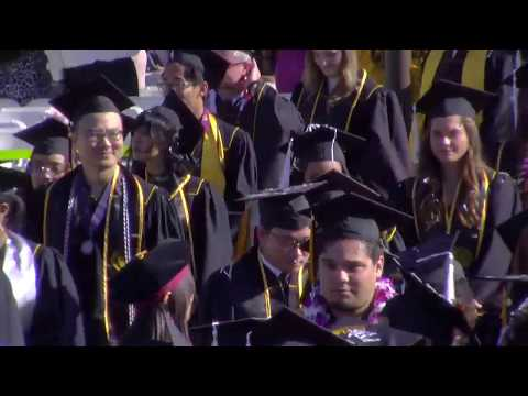 2017 CSULB Commencement - Liberal Arts Ceremony 3
