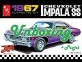UNBOXING /// CHEVROLET IMPALA SS 1967 /// AMT 1/25