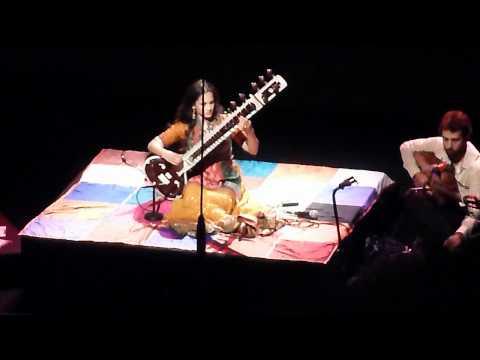 Anoushka Shankar 080712 Copenhagen Concert Hall