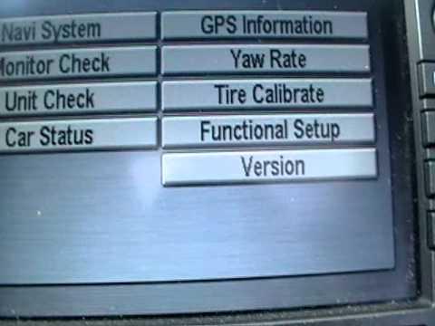 How to get the Honda  Navigation CODE