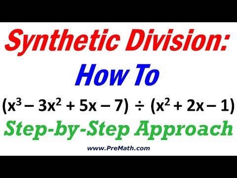 Synthetic Division How To: Quick And Easy Technique