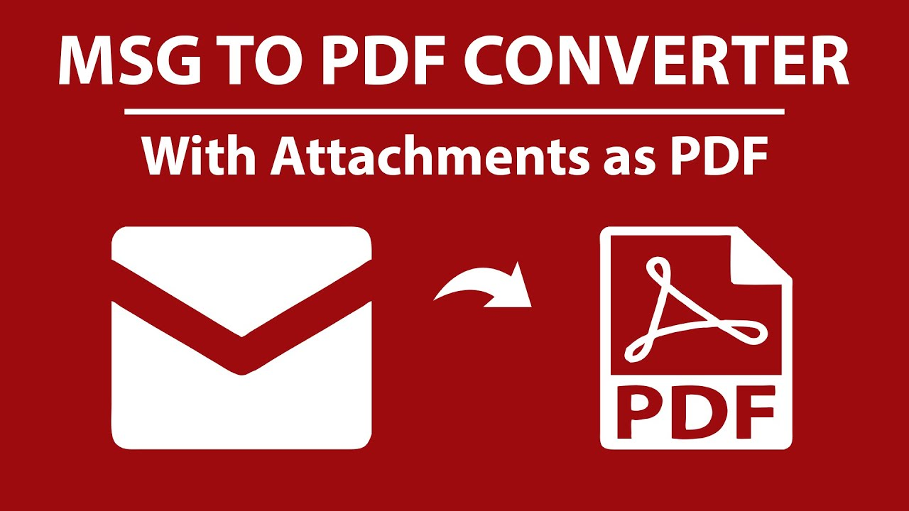 PCVARE MSG to PDF Converter - Batch Convert MSG to PDF