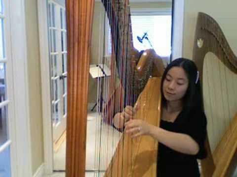 "Harpist - Phantom of the Opera  ""Think of Me"""