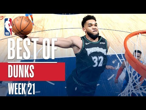 NBA's Best Dunks | Week 21 thumbnail