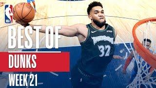 NBA's Best Dunks | Week 21