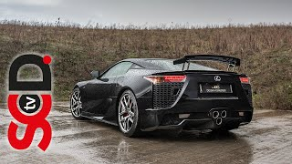 Lexus LFA Driven - V10 Sound at 9400 RPM | The Octane Collection