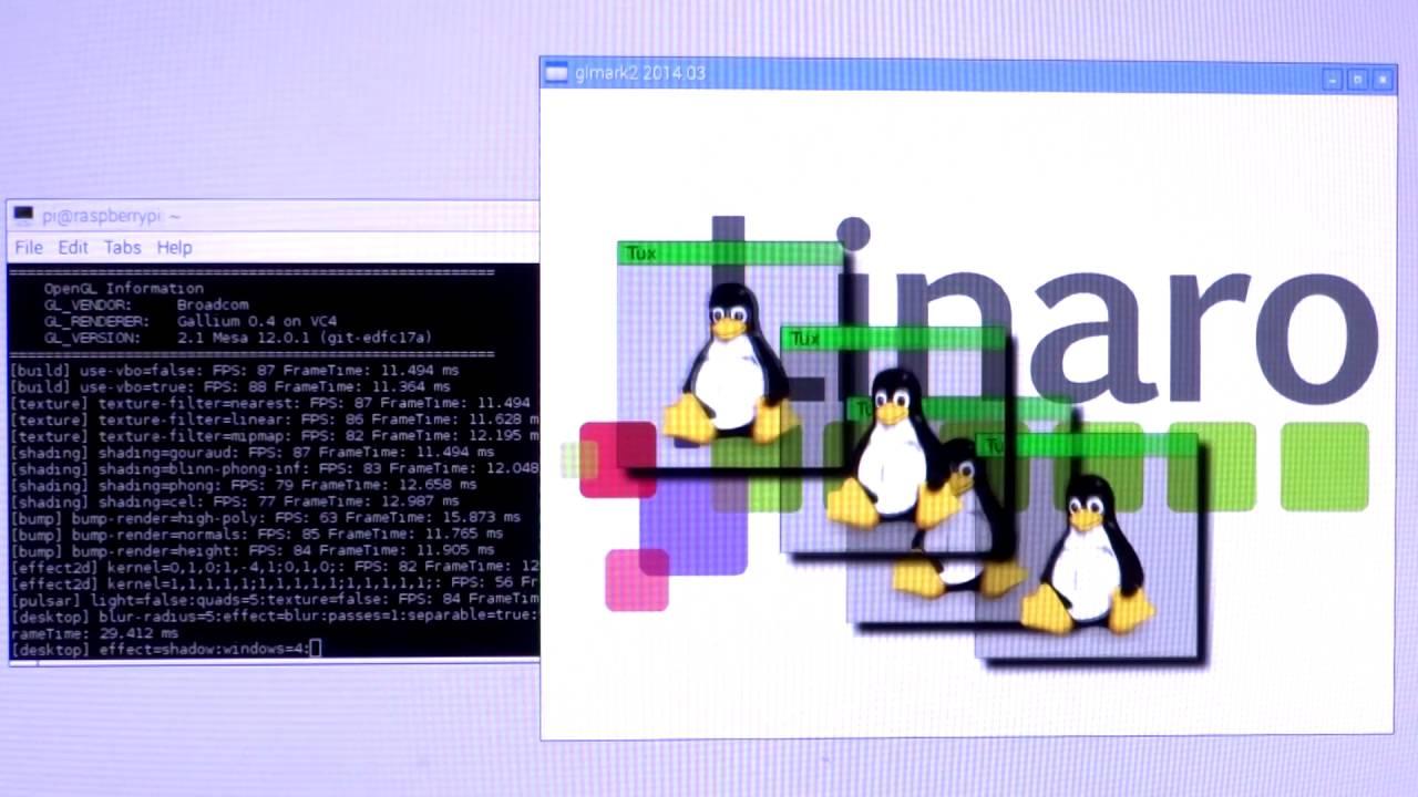 Raspberry Pi GLMark2 Mesa 12 0 1 | GPU Driver Update
