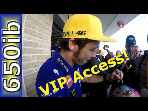 2016 MotoGP America | Yamaha R1M VIP experience with Valentino Rossi