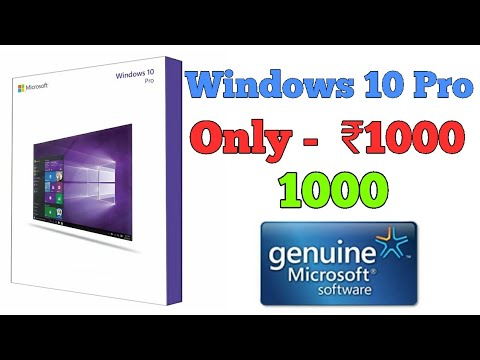 License key Windows 10 only ₹1000/$15 - YouTube