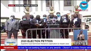 GhanaWeb TV Live: 2020 Election Petition Hearing; Tuesday February 16, 2021