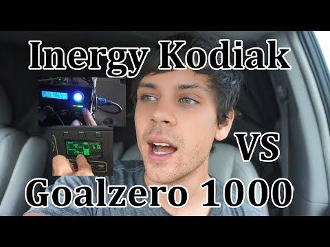 Solar Generator Comparison: Goalzero Lithium 1000 vs. Inergy Kodiak