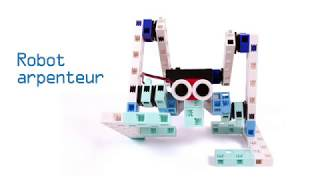 Comprendre comment marcher sur deux jambes avec le robot arpenteur