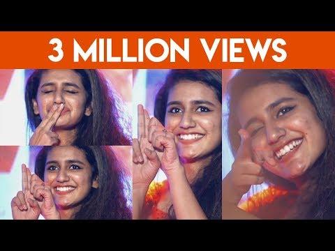 Oru Adaar Love Teaser Version Live Priya Varrier At Kochi Lulu Mall