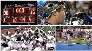San Marino (36) vs Sierra Canyon (35)  CIF SoCal State Regional Finals 2015