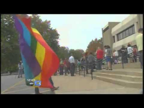 Asheville's First Same Sex Couple Legally Weds