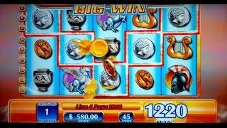 JACKPOT HANDPAY! Zeus Slot - $45 Max Bet - HIGH LIMIT ACTION!
