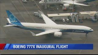 New Boeing Plane Takes Maiden Flight