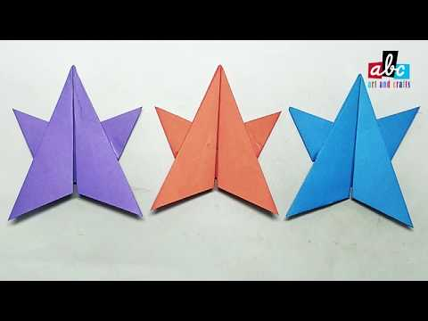 How to make origami paper Star?