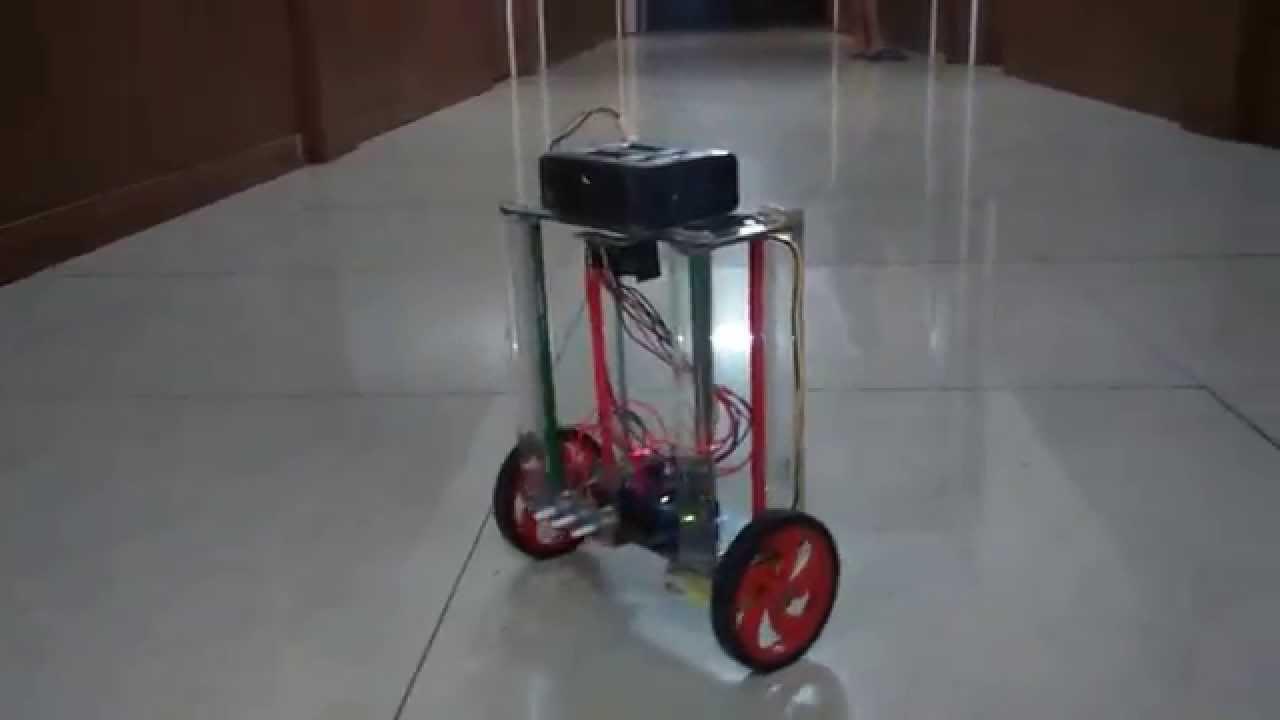 Self balancing bot using mpu arduino pid imple